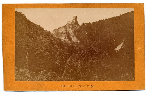 Amand Helm, Wien - Ruins Of Schauenstein Near Pölla In Lower Austria