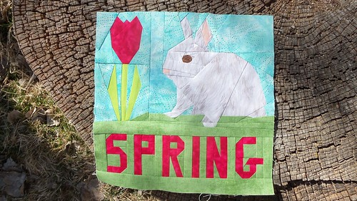 Spring Fling Blog Hop 2013! by ruthiequilts