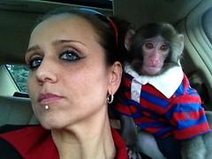 Yasmin Nakhuda & Darwin (IKEA) Monkey