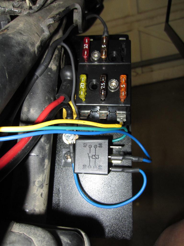 36 Volt To 12 Volt Wiring Diagram Adding A Fuse Box Page 3 Kawasaki Klr 650 Forum