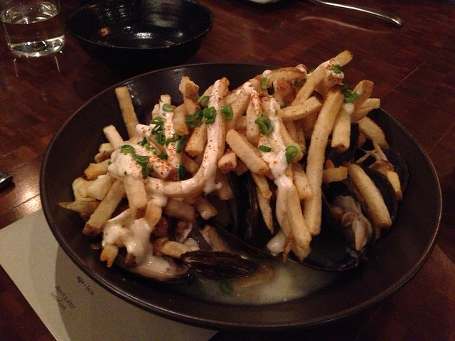 Savory clams and frites - Nojo