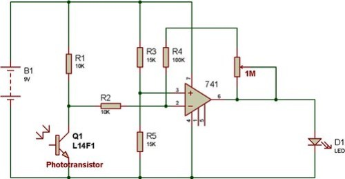 741-and-photo-transistor