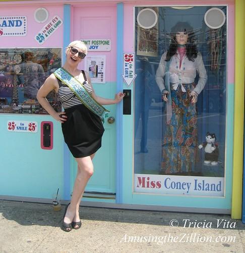 Miss Coney Island Meets Miss Coney Island
