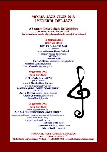 Jazz a Monte Mario MO.MA by cristiana.piraino