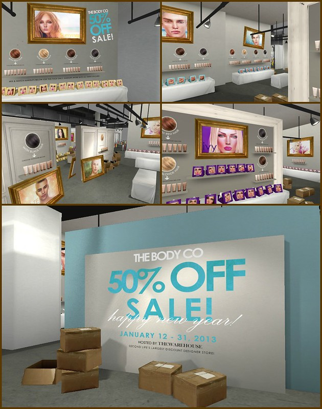 The Body Co. 50% off Sale