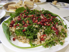 Kale and Spelt Salad