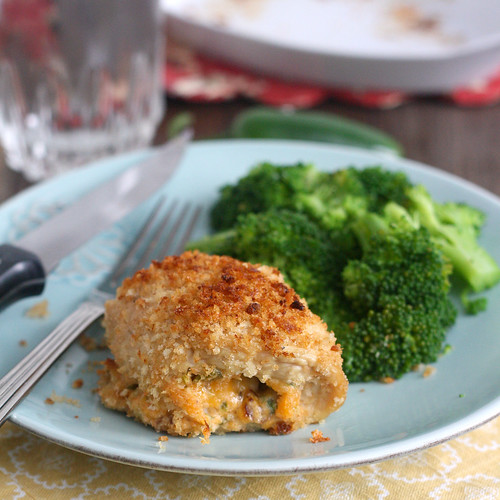 Cheesy Jalapeño Popper Chicken