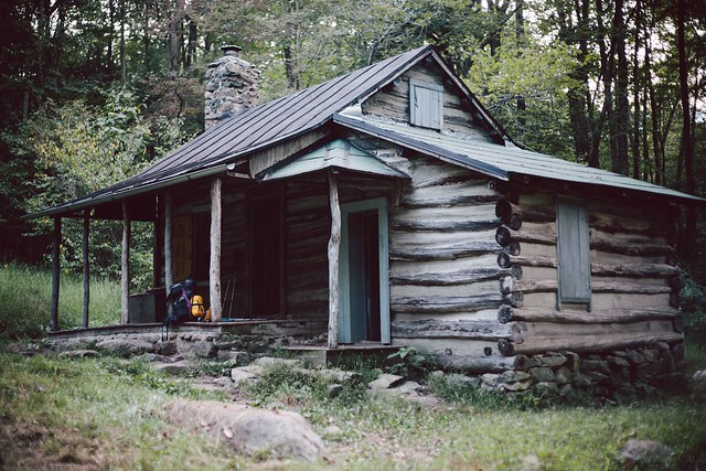 corbin cabin, shenandoah national park