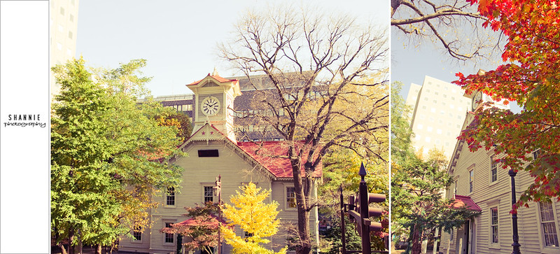 Sapporo Clock Tower 札幌時計台