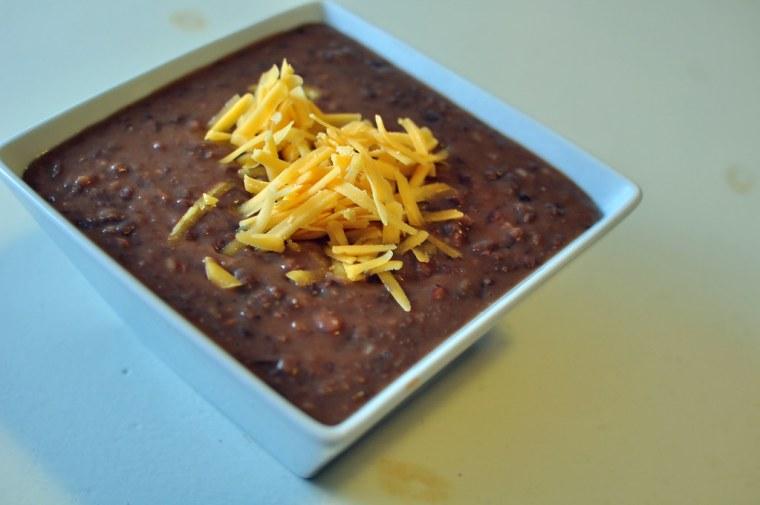 Crock Pot Refried Beans 1