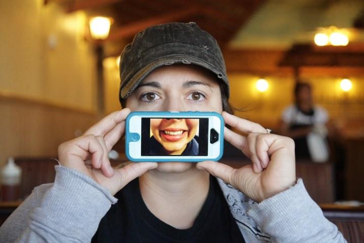 Pre-coffee Digital Smile
