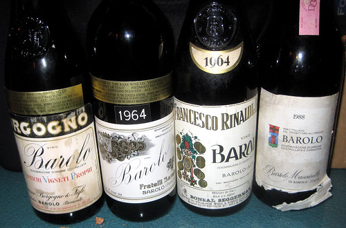 1/15/13 Barolo/Brunello/Amarone Feast at Caffe Macaroni