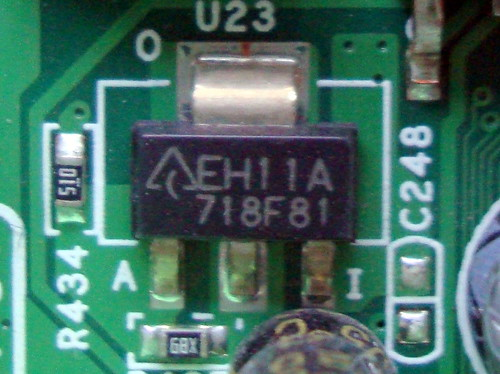 Recycling electronics component
