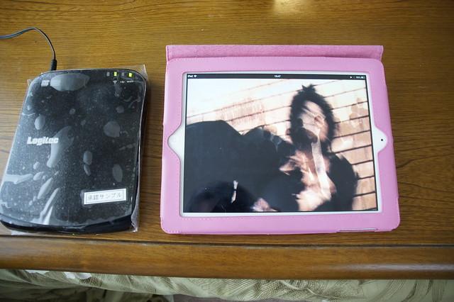 iPadでもDVD観れるんです