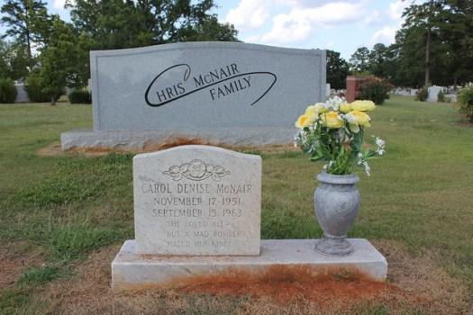 Denise McNair, Elmwood Cemetery