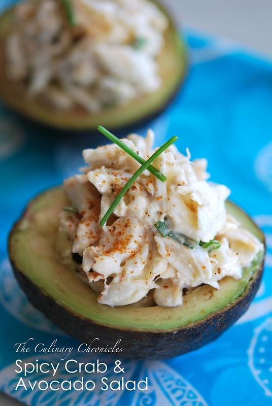 Spicy Crab & Avocado Salad
