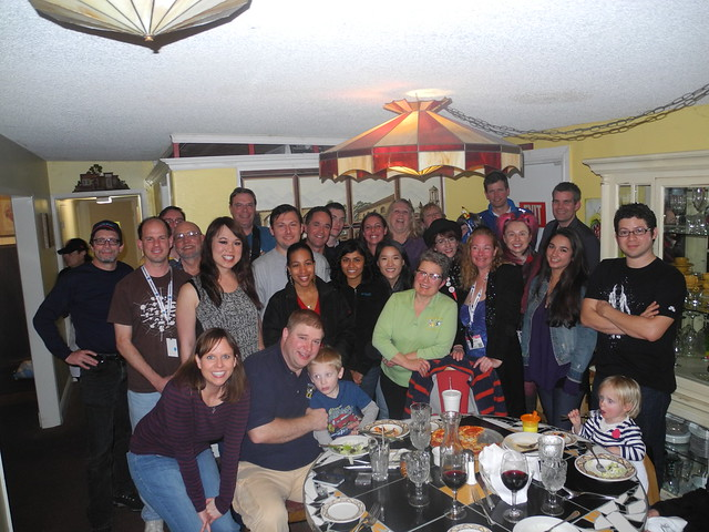 63-The NASASocial Dinner Group