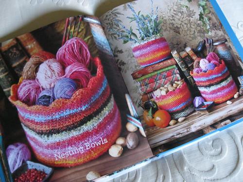 Crochet Noro - Nesting Bowls