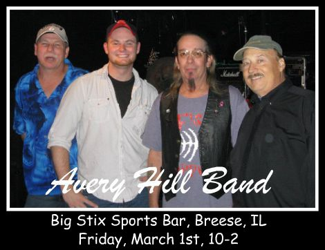 Avery Hill Band 3-1-13
