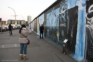 Touristenmagnet Berliner Mauer