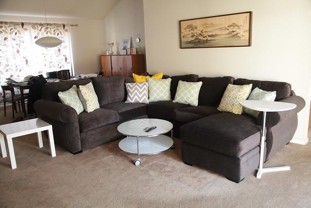 New Sofa & Coffee Table