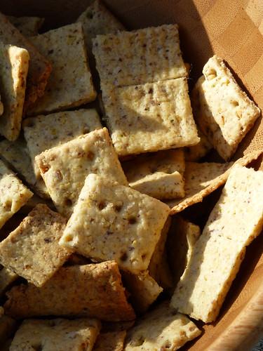 Chickpea Crackers - crackers di ceci