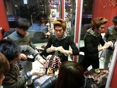 Nhà tạo mẫu tóc nổi tiếng Kuansaigon 0915804875 nhận đào tạo thợ làm tóc chuyên nghiệp tại www.korigami.vn - Hà Nội (5)