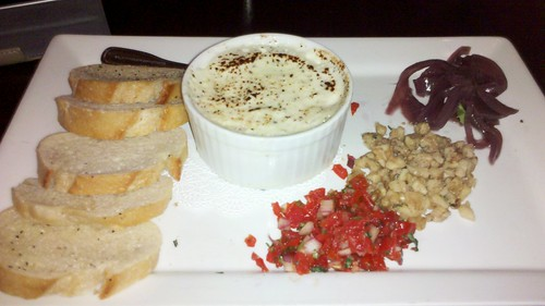 RiRa baked goat cheese