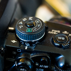 Shooting Mode Dials