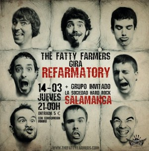 The Fatty Farmers en Salamanca