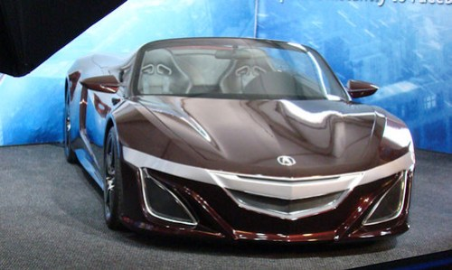 Acura NSX Iron Man Avengers Car