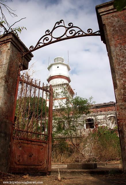 Gates of Capones Island Lighthouse Zambales