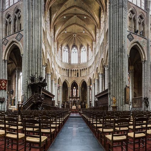 Eglise Sint-Walburga - Veurne (Furnes) - Mars 2013