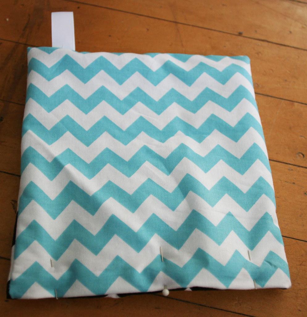 hot pad fold and tuck