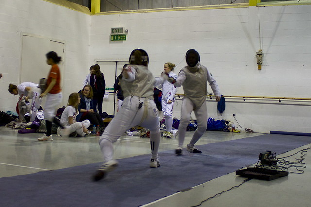 Women S Fencing Made To Settle For Second Nouse