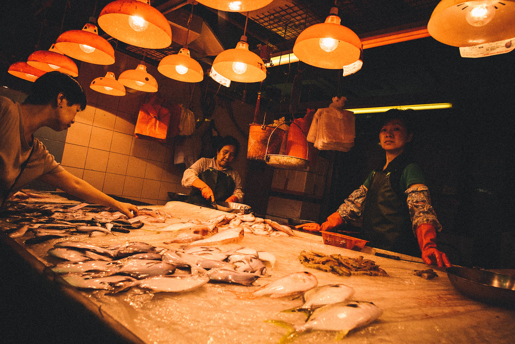 Wan Chai Fish and Meat Market