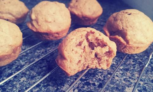 Thai coffee muffin