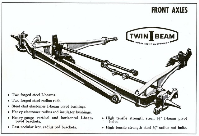 1965 Ford Truck Twin-I-Beam Independent Suspension