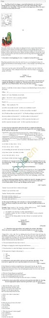CBSE Board Exam 2013 Sample Papers (SA1) Class IX - English Lang. & Lit.