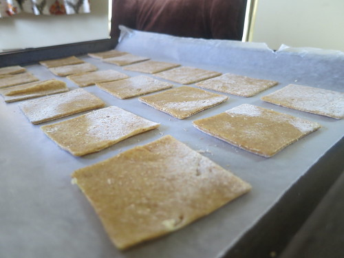 Whole wheat and goat's cheese ravioli