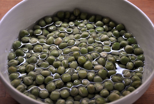 Soak peas overnight
