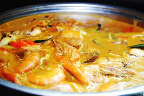 Seafood Kare-Kare.