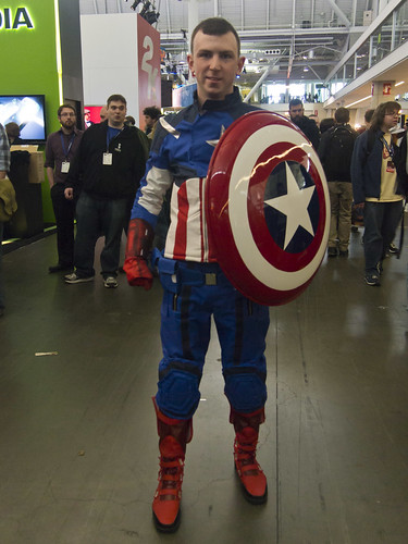 Captain America Cosplayer