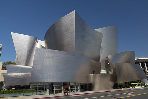 Disney Concert Hall - a Frank Geary job - LA by watershed96