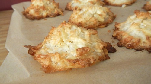 Chocolate Almond Coconut Macaroons 12