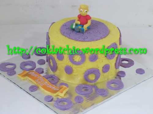 Cake Bart Simpson