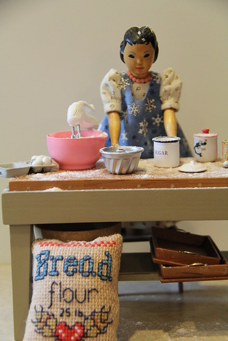 Baking a cake