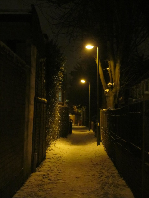 Snowy London
