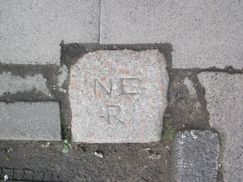 Saltburn Station NER Stones