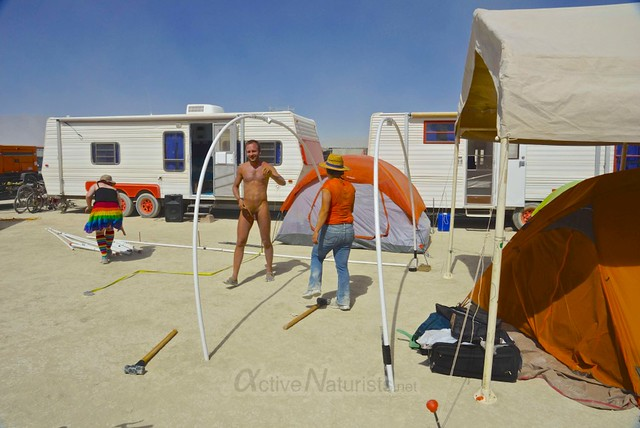naturist 0021 Burning Man 2012, Black Rock City, NV, USA